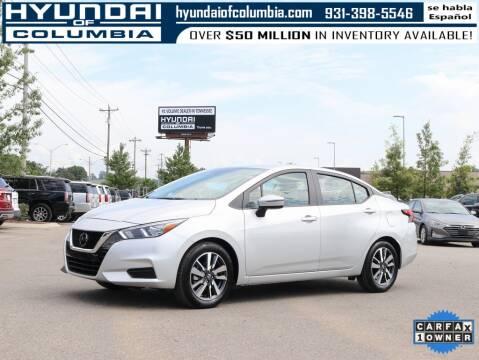 2020 Nissan Versa for sale at Hyundai of Columbia Con Alvaro in Columbia TN