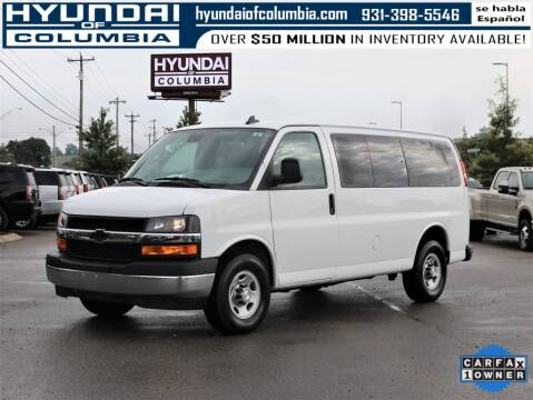 2019 Chevrolet Express Passenger for sale at Hyundai of Columbia Con Alvaro in Columbia TN