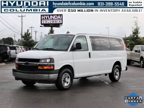 2019 Chevrolet Express Passenger for sale at Hyundai of Columbia Con Alvaro in Columbia TN