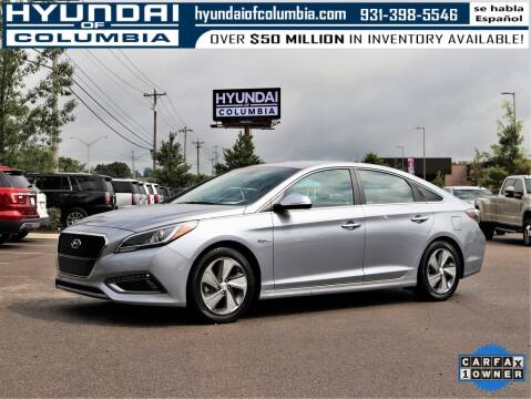 2016 Hyundai Sonata Hybrid for sale at Hyundai of Columbia Con Alvaro in Columbia TN