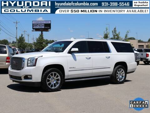 2016 GMC Yukon XL for sale at Hyundai of Columbia Con Alvaro in Columbia TN