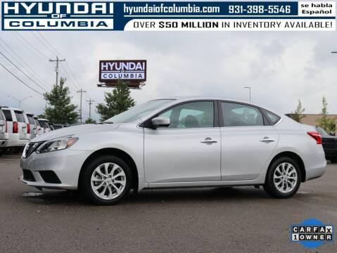 2018 Nissan Sentra for sale at Hyundai of Columbia Con Alvaro in Columbia TN