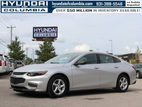 2017 Chevrolet Malibu for sale at Hyundai of Columbia Con Alvaro in Columbia TN