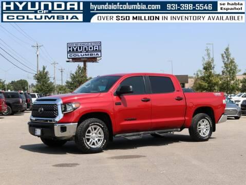 2019 Toyota Tundra for sale at Hyundai of Columbia Con Alvaro in Columbia TN