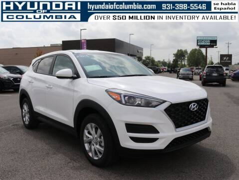 2021 Hyundai Tucson for sale at Hyundai of Columbia Con Alvaro in Columbia TN