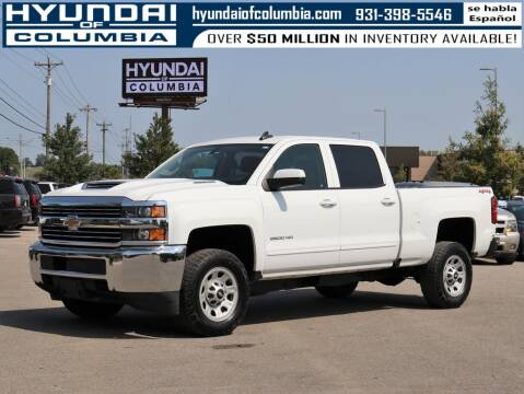 2018 Chevrolet Silverado 2500HD for sale at Hyundai of Columbia Con Alvaro in Columbia TN