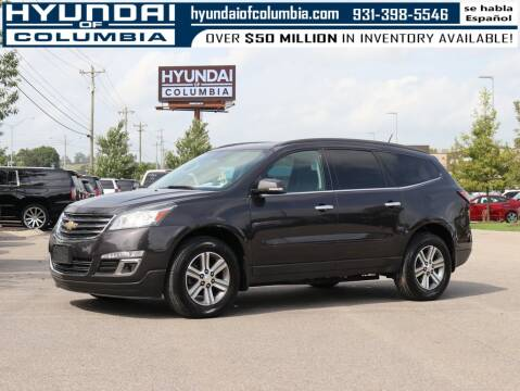 2016 Chevrolet Traverse for sale at Hyundai of Columbia Con Alvaro in Columbia TN
