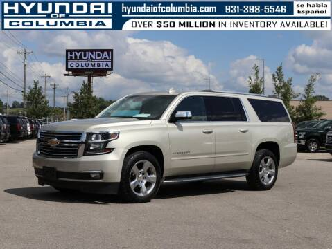 2017 Chevrolet Suburban for sale at Hyundai of Columbia Con Alvaro in Columbia TN