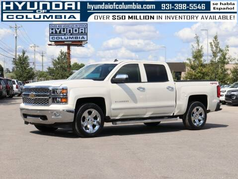 2014 Chevrolet Silverado 1500 for sale at Hyundai of Columbia Con Alvaro in Columbia TN