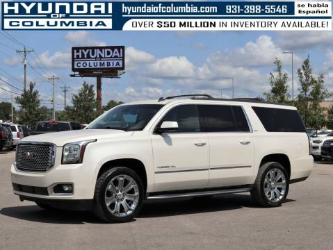 2015 GMC Yukon XL for sale at Hyundai of Columbia Con Alvaro in Columbia TN