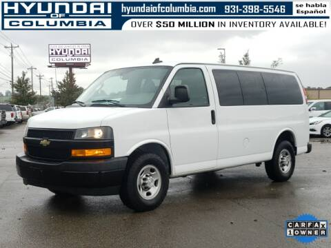 2018 Chevrolet Express Passenger for sale at Hyundai of Columbia Con Alvaro in Columbia TN