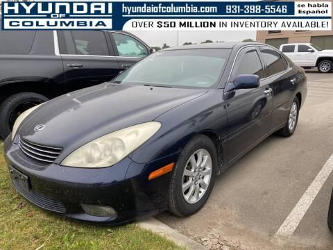 2004 Lexus ES 330 for sale at Hyundai of Columbia Con Alvaro in Columbia TN