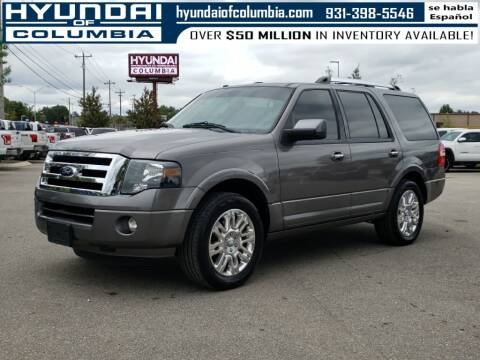 2012 Ford Expedition for sale at Hyundai of Columbia Con Alvaro in Columbia TN