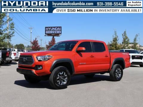 2016 Toyota Tacoma for sale at Hyundai of Columbia Con Alvaro in Columbia TN