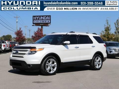 2015 Ford Explorer for sale at Hyundai of Columbia Con Alvaro in Columbia TN