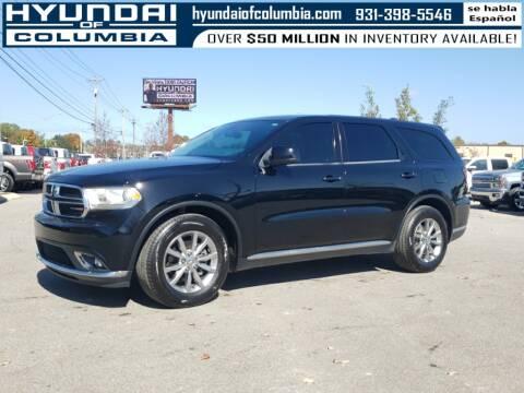 2018 Dodge Durango for sale at Hyundai of Columbia Con Alvaro in Columbia TN
