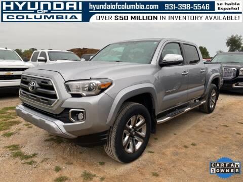 2017 Toyota Tacoma for sale at Hyundai of Columbia Con Alvaro in Columbia TN