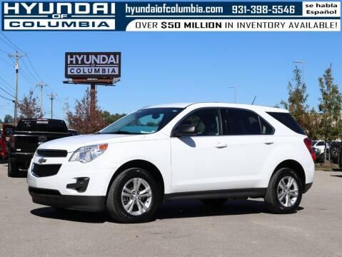 2014 Chevrolet Equinox for sale at Hyundai of Columbia Con Alvaro in Columbia TN