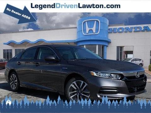 2019 Honda Accord Hybrid for sale in Lawton, OK