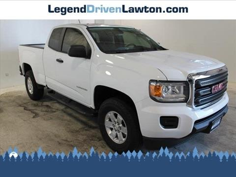 2016 GMC Canyon for sale in Lawton, OK