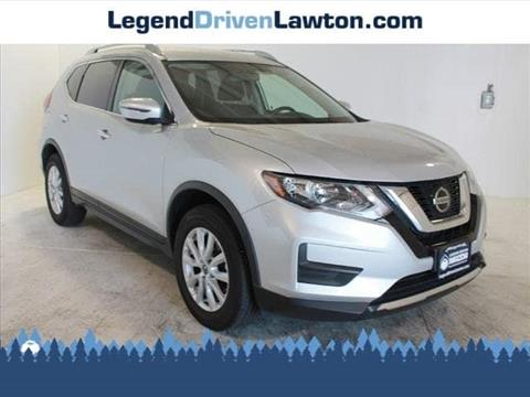 Nissan Of Lawton >> 2018 Nissan Rogue For Sale In Lawton Ok