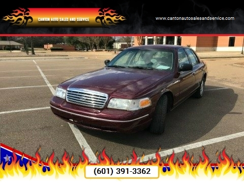 2004 Ford Crown Victoria for sale in Canton, MS
