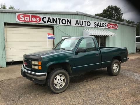 1995 GMC Sierra 1500 for sale in Canton, MS
