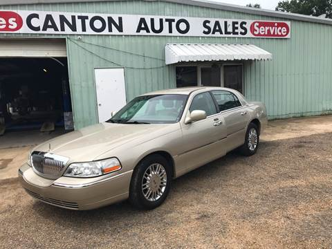 2006 Lincoln Town Car for sale in Canton, MS