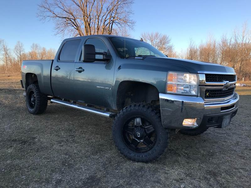 2008 Chevrolet Silverado 2500HD for sale at Overvold Motors in Detriot Lakes MN