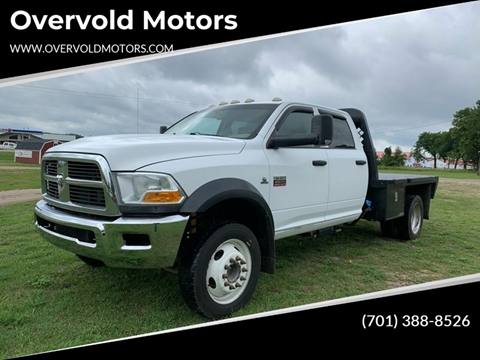 2011 RAM Ram Chassis 4500 for sale at Overvold Motors in Detriot Lakes MN