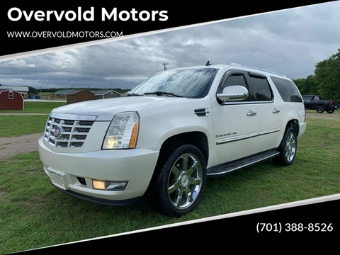 2007 Cadillac Escalade ESV for sale at Overvold Motors in Detriot Lakes MN