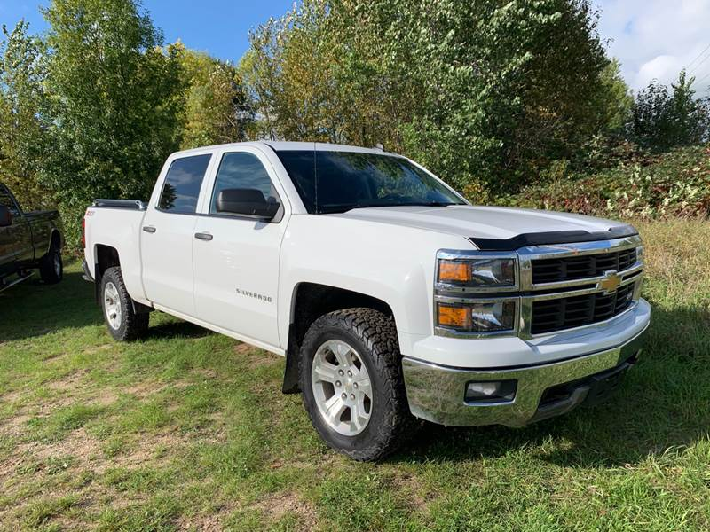 2014 Chevrolet Silverado 1500 for sale at Overvold Motors in Detriot Lakes MN