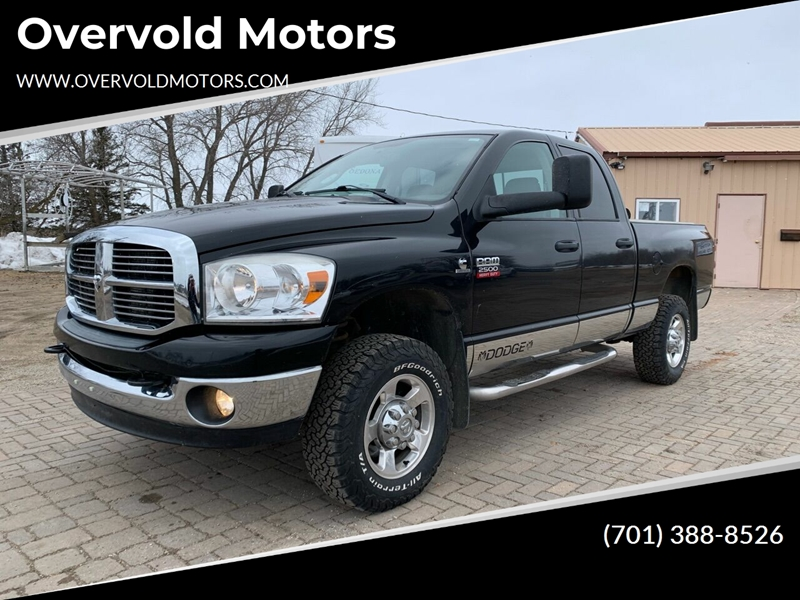 2009 Dodge Ram Pickup 2500 for sale at Overvold Motors in Detriot Lakes MN