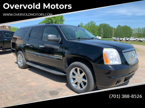 2008 GMC Yukon XL for sale at Overvold Motors in Detriot Lakes MN