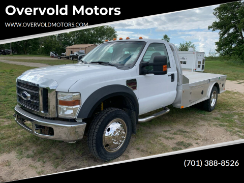 2008 Ford F-550 Super Duty for sale at Overvold Motors in Detriot Lakes MN