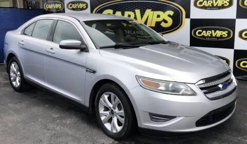 2012 Ford Taurus SEL for sale at CAR VIPS ORLANDO LLC in Orlando FL