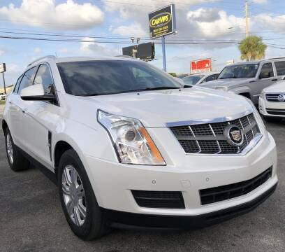 2010 Cadillac SRX Luxury Collection for sale at CAR VIPS ORLANDO LLC in Orlando FL