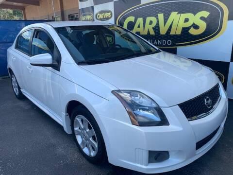 2012 Nissan Sentra 2.0 for sale at CAR VIPS ORLANDO LLC in Orlando FL