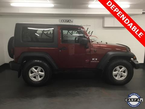 2007 Jeep Wrangler for sale in Ansonia, CT