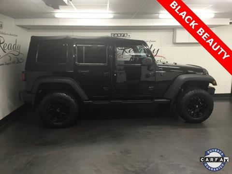 2012 Jeep Wrangler Unlimited for sale in Ansonia, CT