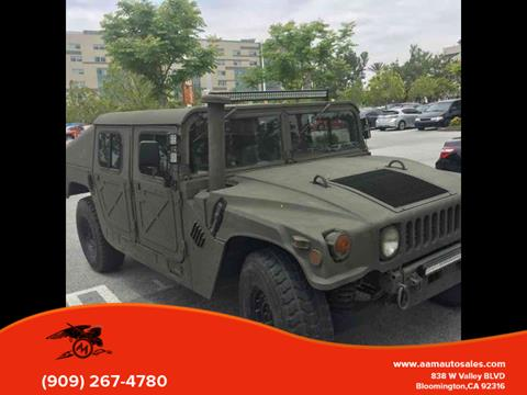 2004 HUMMER H1 for sale in Bloomington, CA