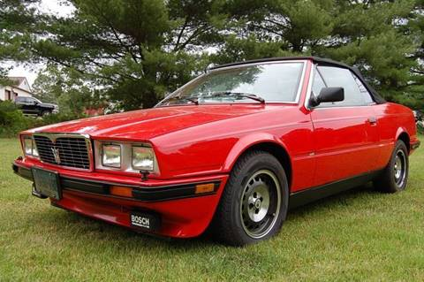 1987 Maserati Spyder for sale in Gaylordsville, CT