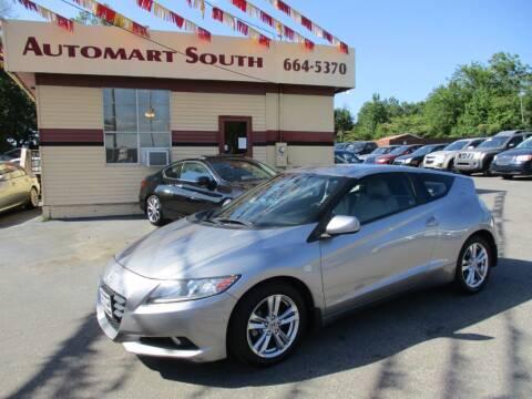 2012 Honda CR-Z for sale at Automart South in Alabaster AL