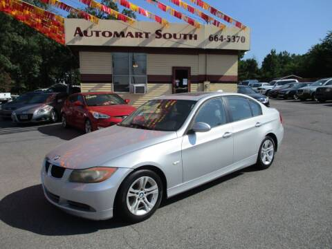 2008 BMW 3 Series for sale at Automart South in Alabaster AL