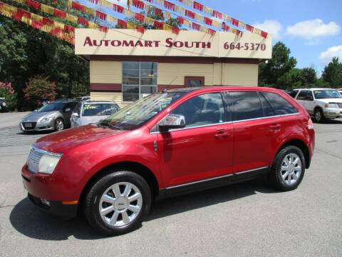 2008 Lincoln MKX for sale at Automart South in Alabaster AL
