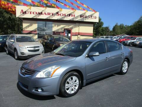2010 Nissan Altima for sale at Automart South in Alabaster AL