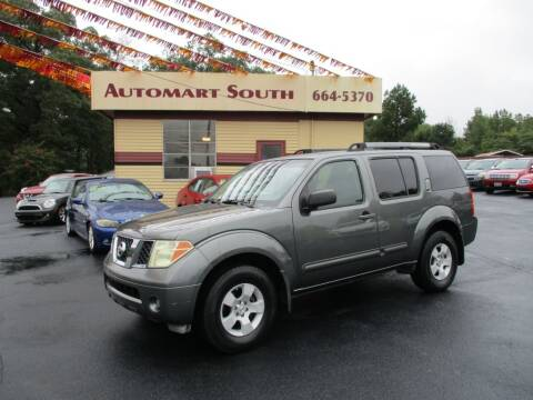 2006 Nissan Pathfinder for sale at Automart South in Alabaster AL
