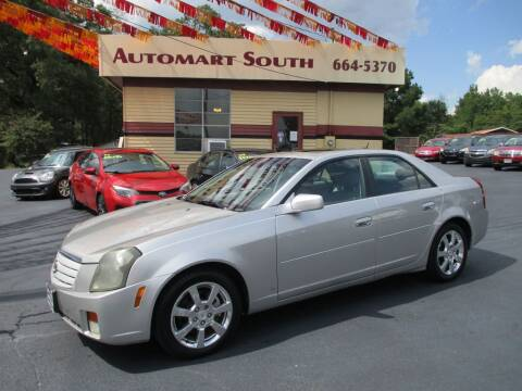 2007 Cadillac CTS for sale at Automart South in Alabaster AL