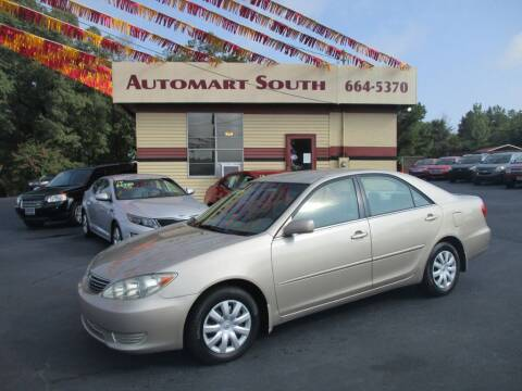 2006 Toyota Camry for sale at Automart South in Alabaster AL