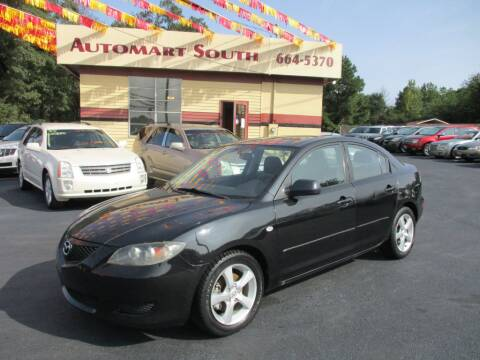 2006 Mazda MAZDA3 for sale at Automart South in Alabaster AL